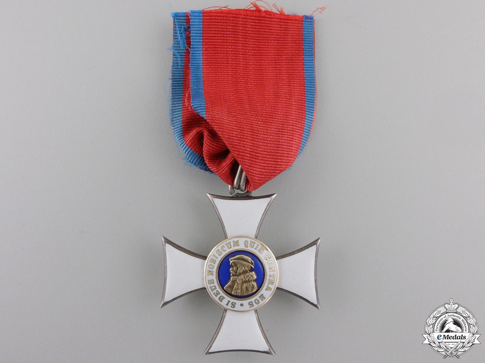 eMedals-A Hessen Order of Philip the Magnanimous; Knight's Cross 2nd Class