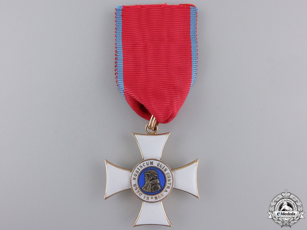 eMedals-A Hessen Order of Philip the Magnanimous in Gold; 1st Class