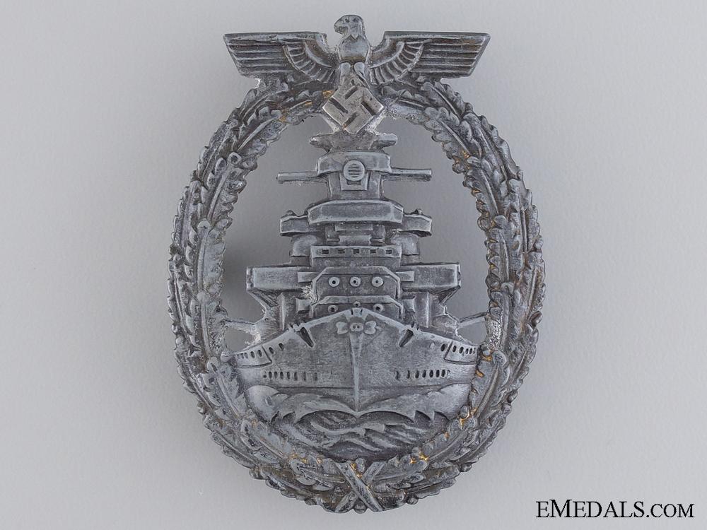 eMedals-A High Seas Fleet Badge by Richard Simm & Söhne, Gablonz