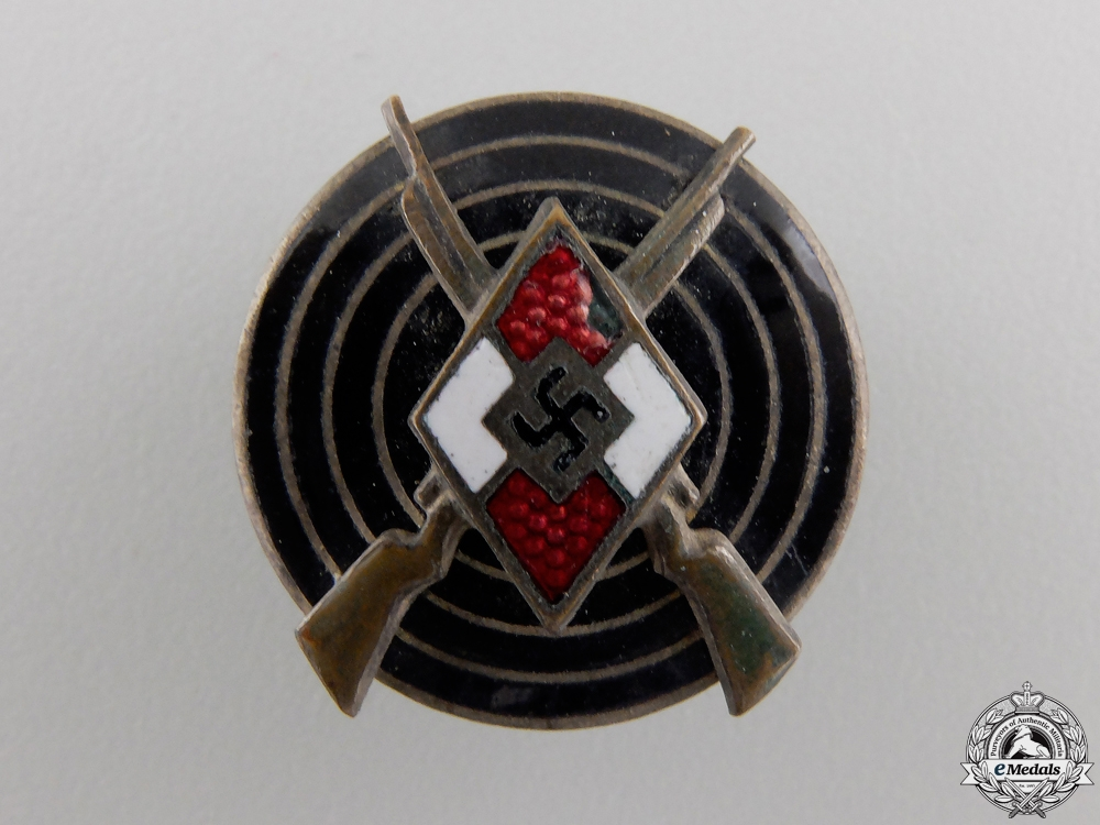 eMedals-A Hitler Youth (HJ) Shooting Badge