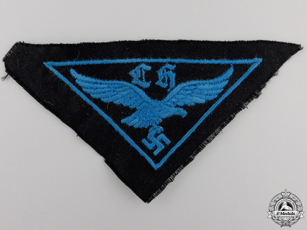 eMedals-A HJ Flak Helper's Cloth Badge