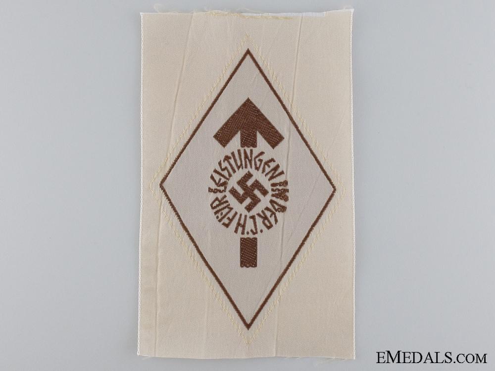 eMedals-A HJ Proficiency Cloth Shirt Badge; Bronze Grade