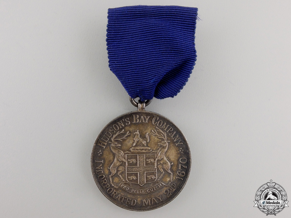 eMedals-A Hudson's Bay Company Fifteen Years Faithful Service Medal 1935