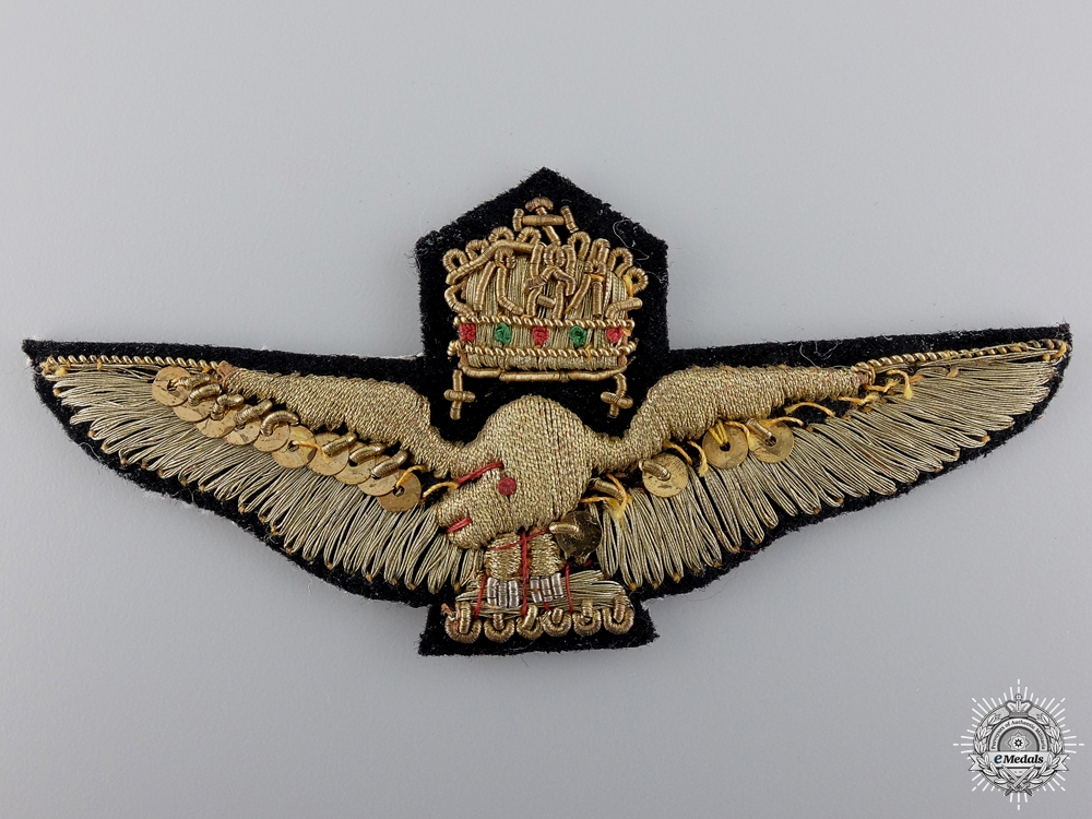 eMedals-A Hungarian Air Force Officer's Breast Badge 1929-45