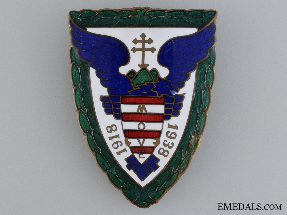 eMedals-A Hungarian MOVE Organization Breast Badge