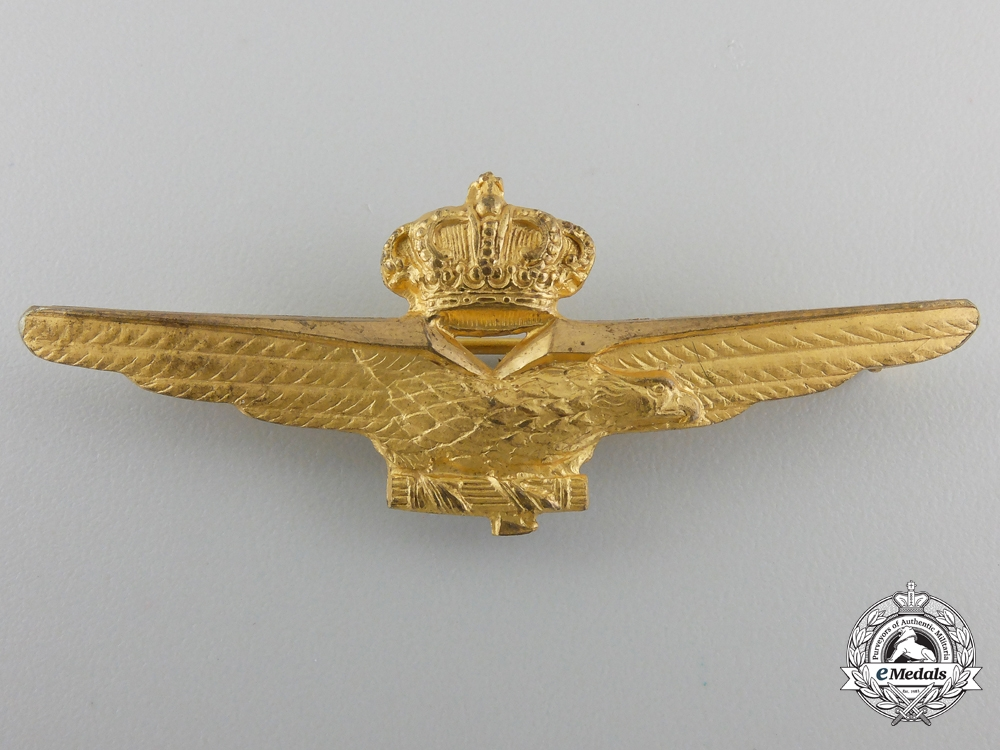 eMedals-A Italian 1941 Pilot's Badge by S.Johnson