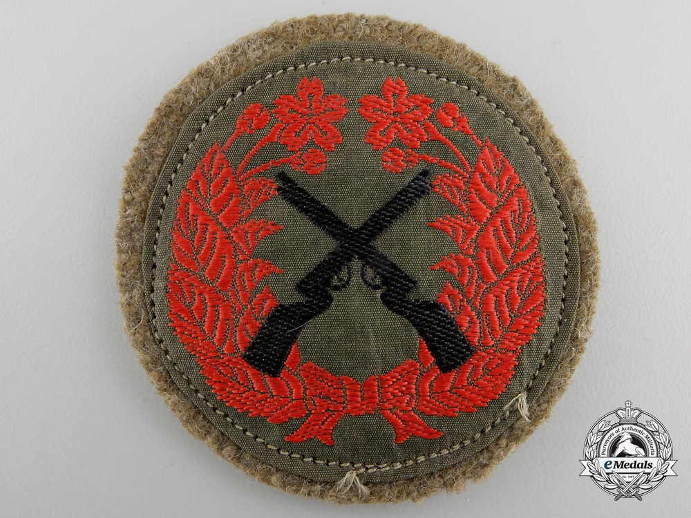 eMedals-A Japanese Army Marksmanship Badge
