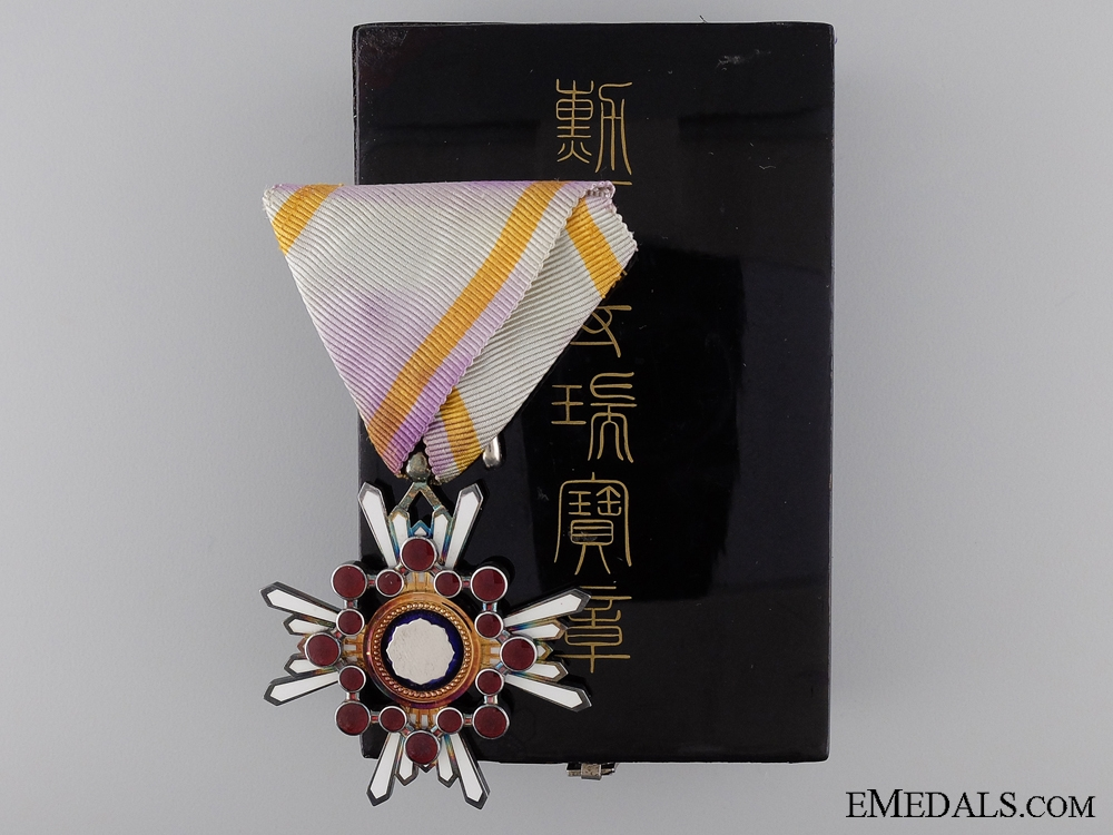 eMedals-A Japanese Order of the Sacred Treasure; Fourth Class