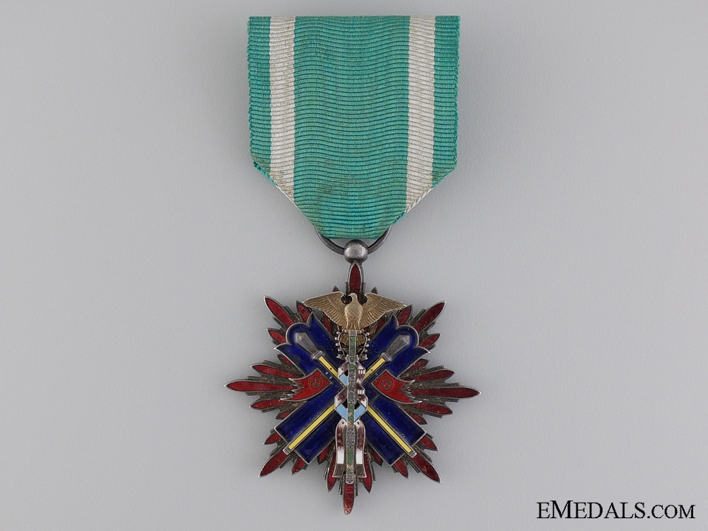 eMedals-A Japanese Order of the Golden Kite; Fifth Class