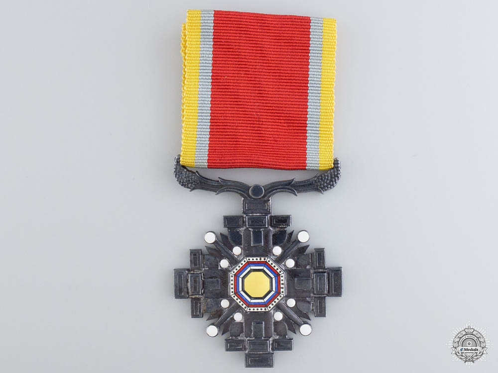 eMedals-A Japanese Order of the Pillars of the State; 8th Class