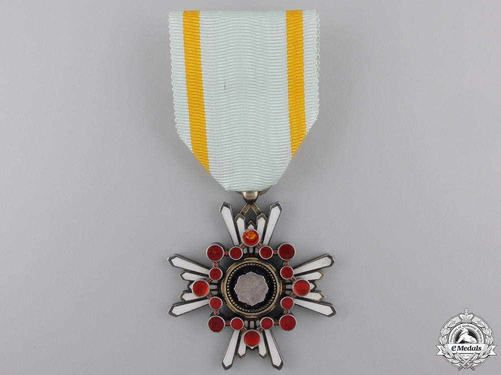 eMedals-A Japanese Order of the Sacred Treasure; 5th Class.