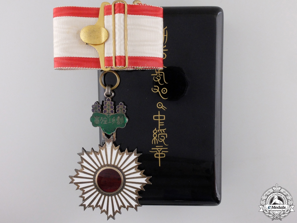 eMedals-A Japanese Order of the Rising Sun; 3rd Class Commander