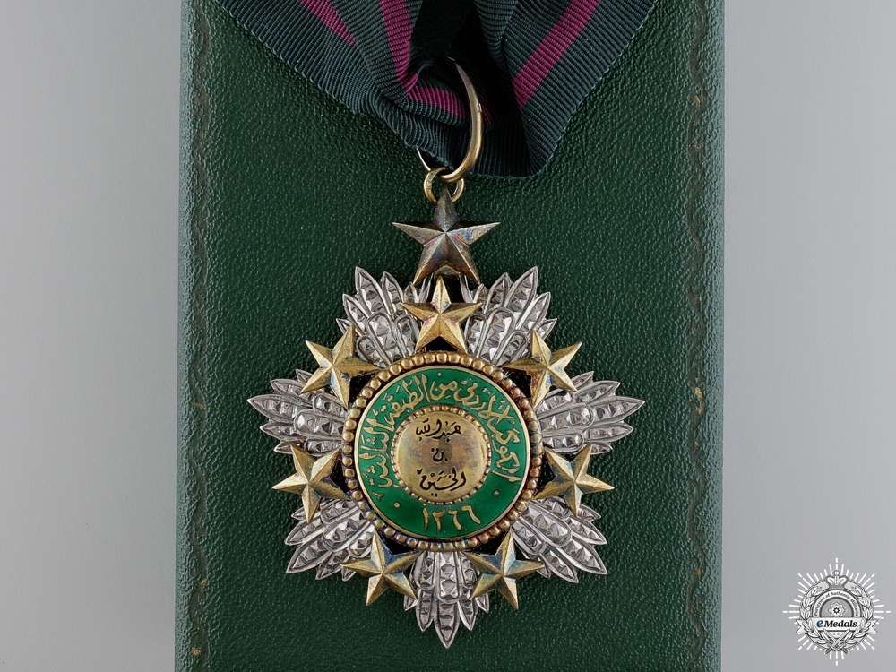 eMedals-A Jordanian Order of the Star 1949; English Made Commander