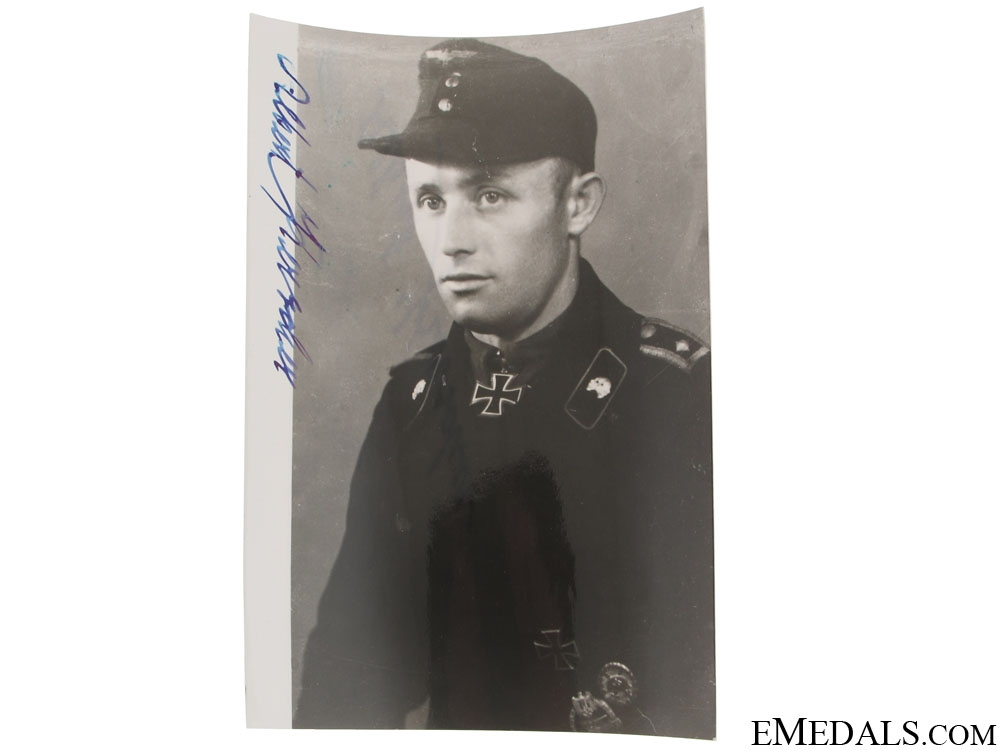 eMedals-A KC Winner Signed Post War Photo
