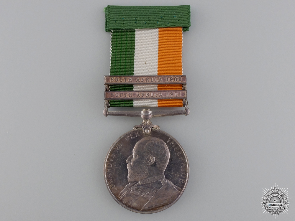 eMedals-A King's South Africa Medal to the Royal Garrison Artillery