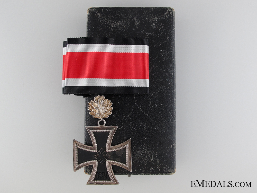 "eMedals-A Knight""¢¯s Cross of The Iron Cross by S & L with Oakleaves"