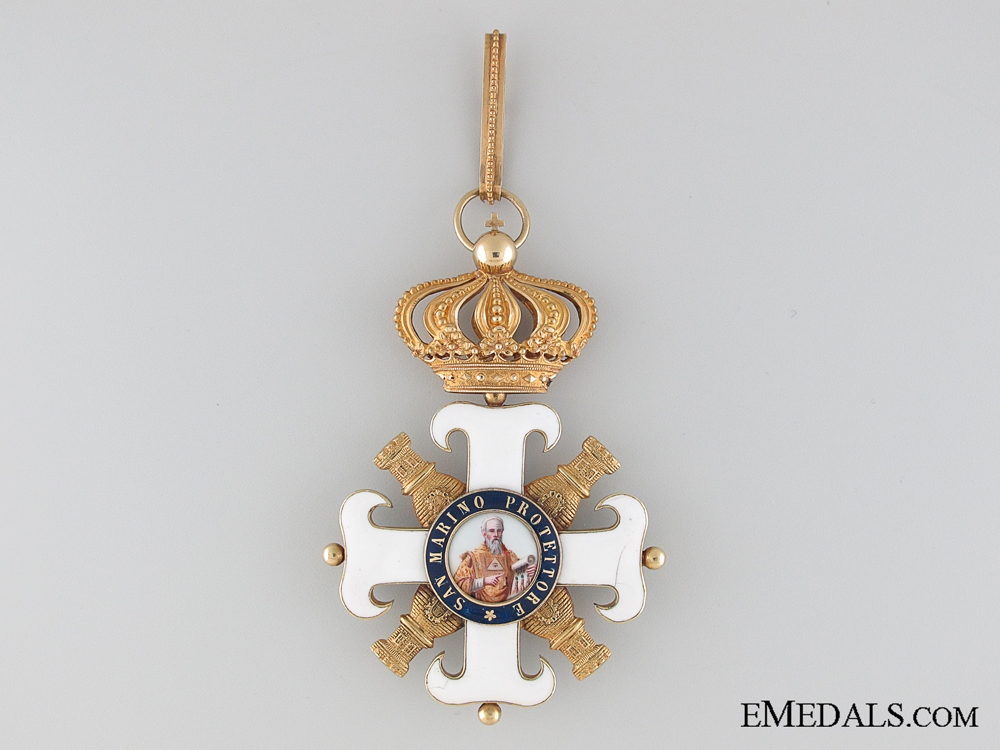 eMedals-A Knights Order of San Marino Civil and Military