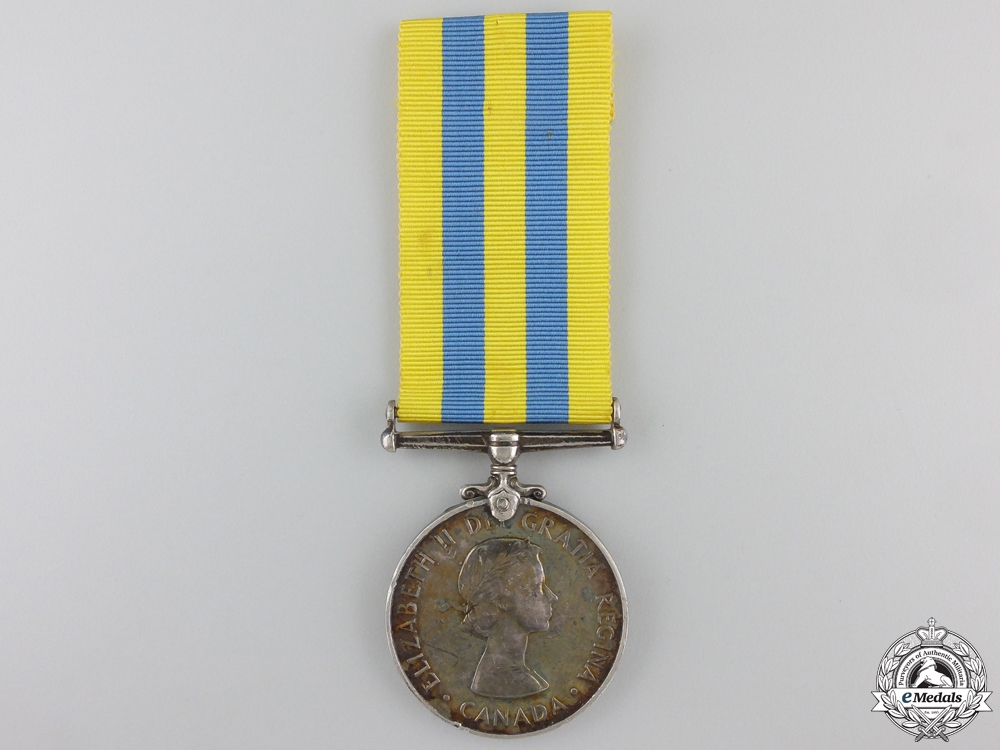 eMedals-A Korea Service Medal to the Royal Canadian Navy