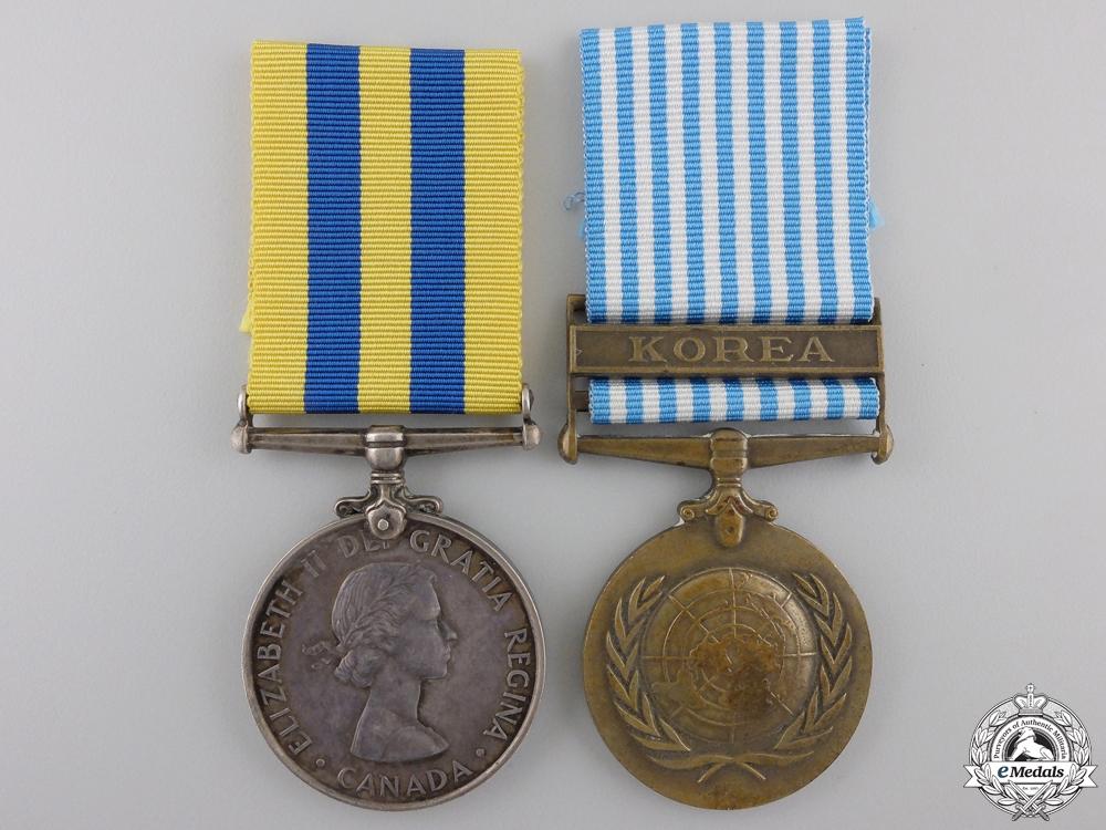 eMedals-A Korea War Pair to the Royal Canadian Artillery