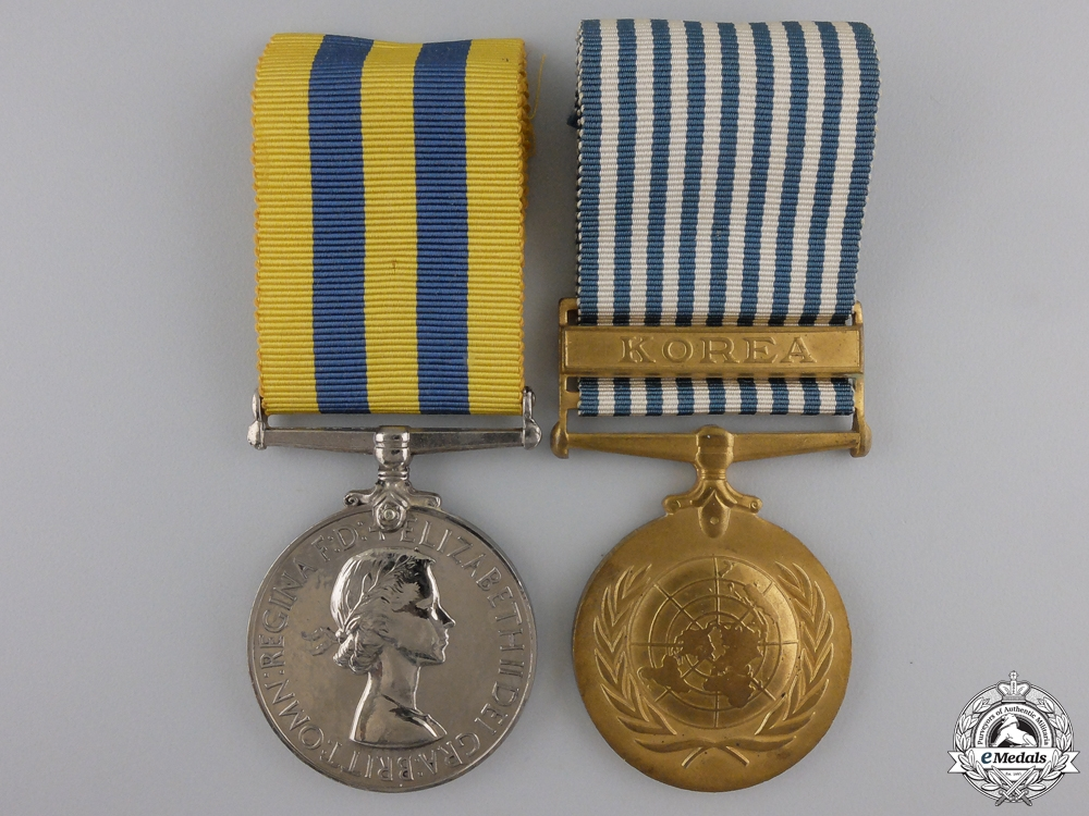 eMedals-A Korean War Pair to the REME