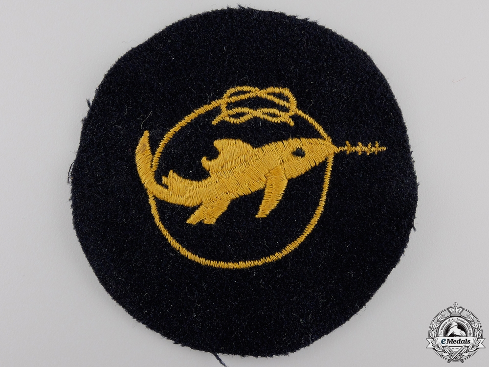 eMedals-A Kriegsmarine Combat Badge Grade 1 of the Small Attack Craft
