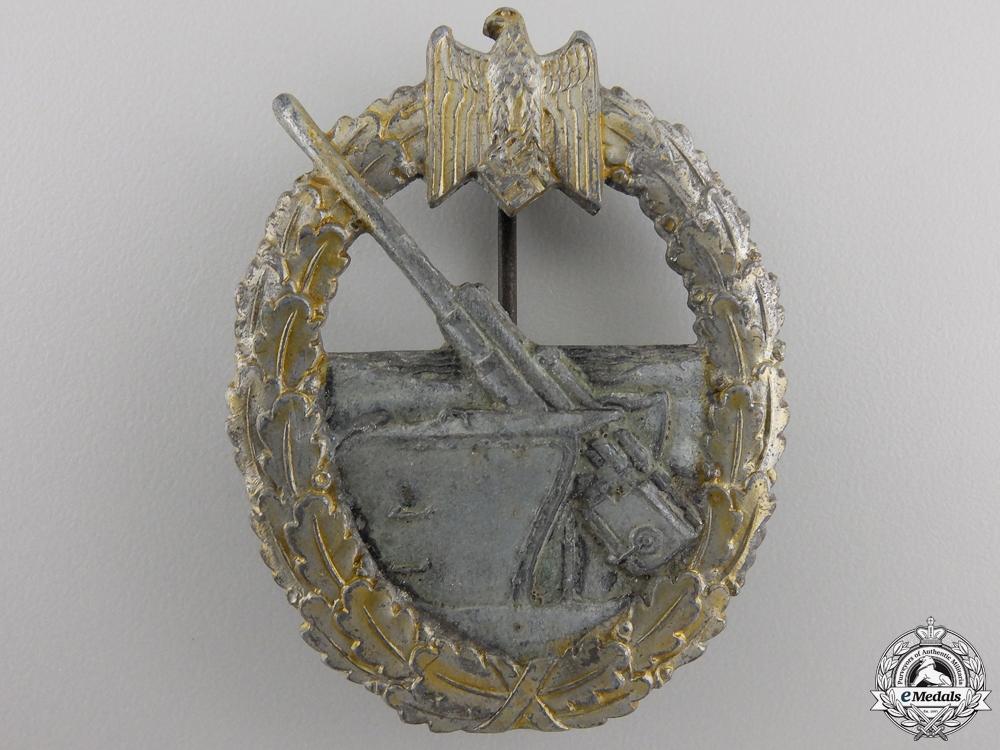 eMedals-A Kriegsmarine Coastal Artillery War Badge