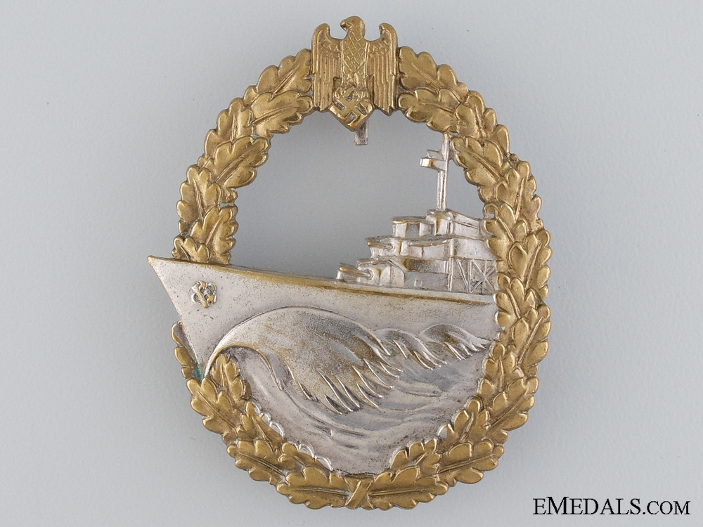 eMedals-A Kriegsmarine Destroyer War Badge