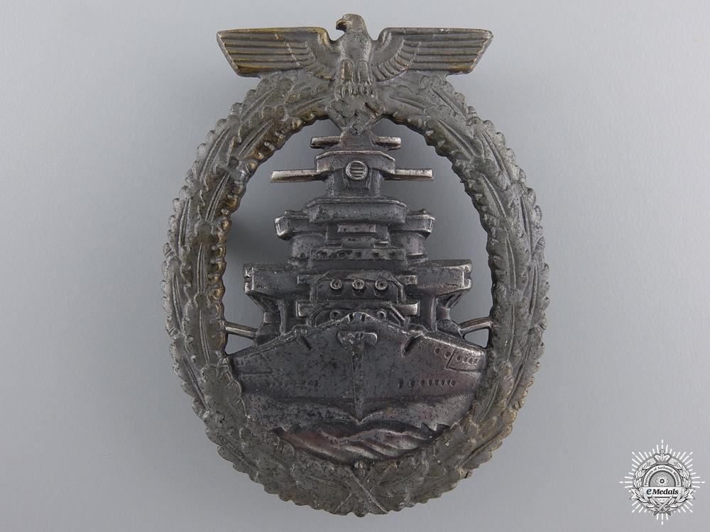 eMedals-A Kriegsmarine High Seas Fleet Badge