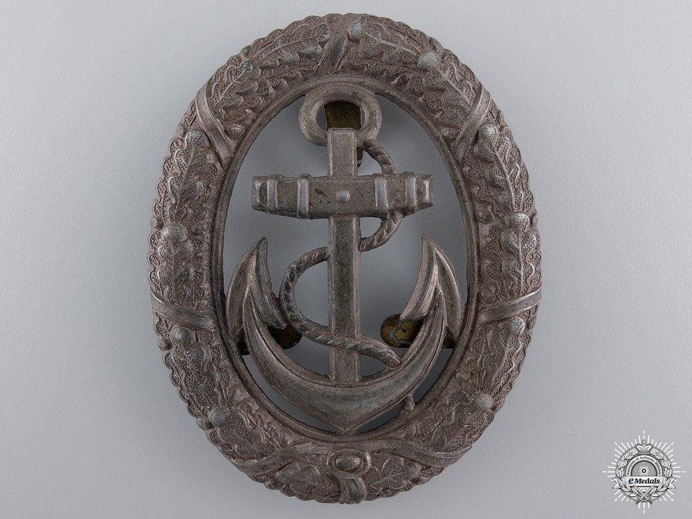 eMedals-A Kriegsmarine Officer on Watch Badge