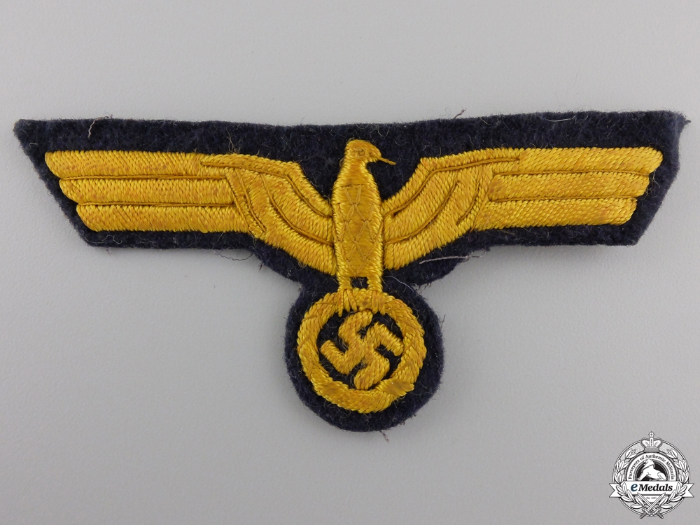 eMedals-A Kriegsmarine Officer's Breast Eagle