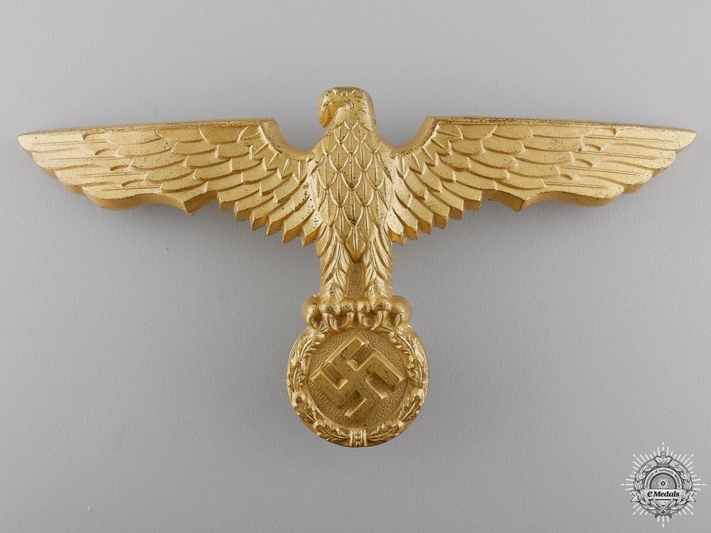 eMedals-A Kriegsmarine Pith Helmet Eagle by Gustav Brehmer