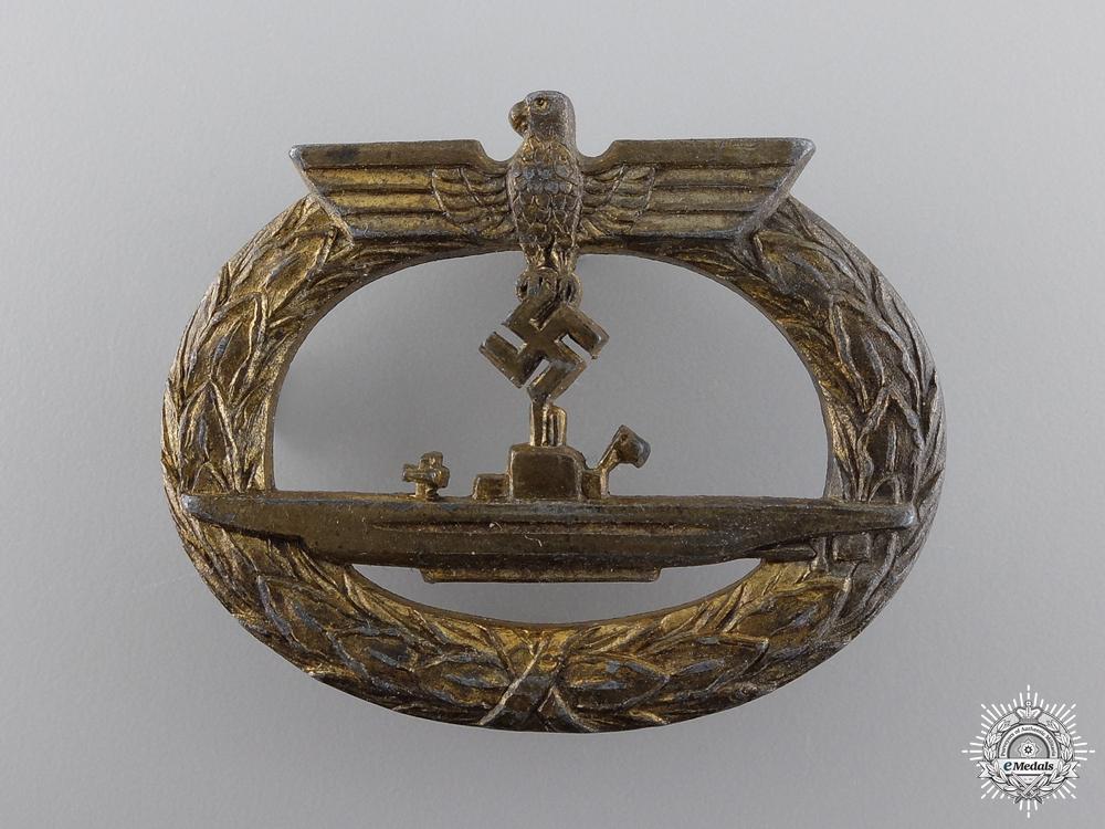 eMedals-A Kriegsmarine Submarine War Badge