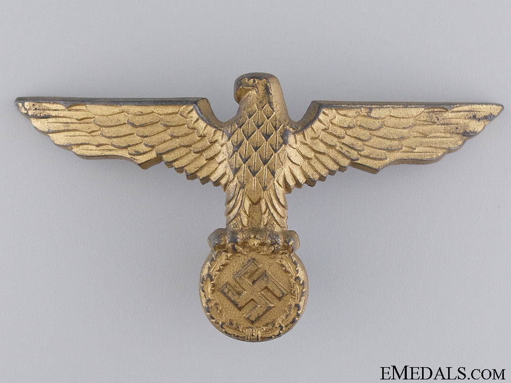 eMedals-A Kriegsmarine Tropical Pith Helmet Eagle