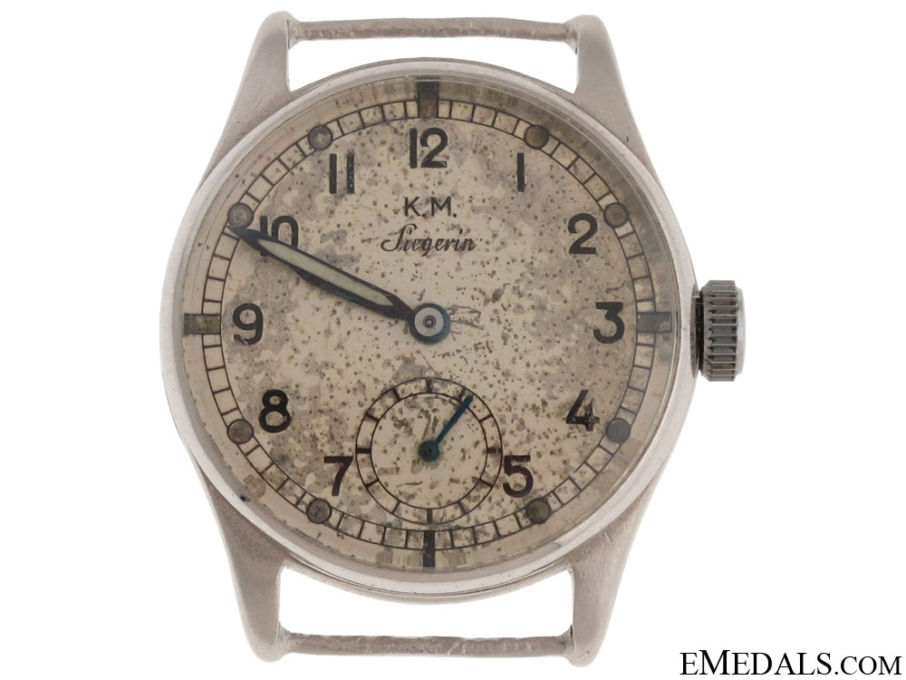 eMedals-A Kriegsmarine Watch - Named
