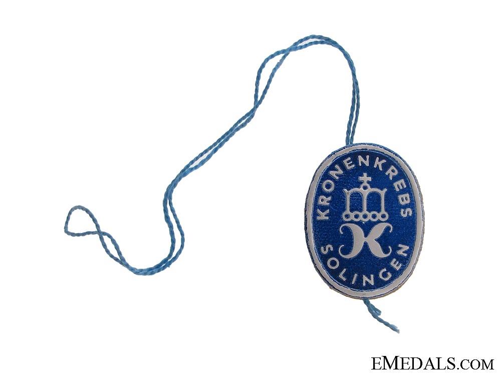 eMedals-A Kronenkrebs Retail Dagger Tag