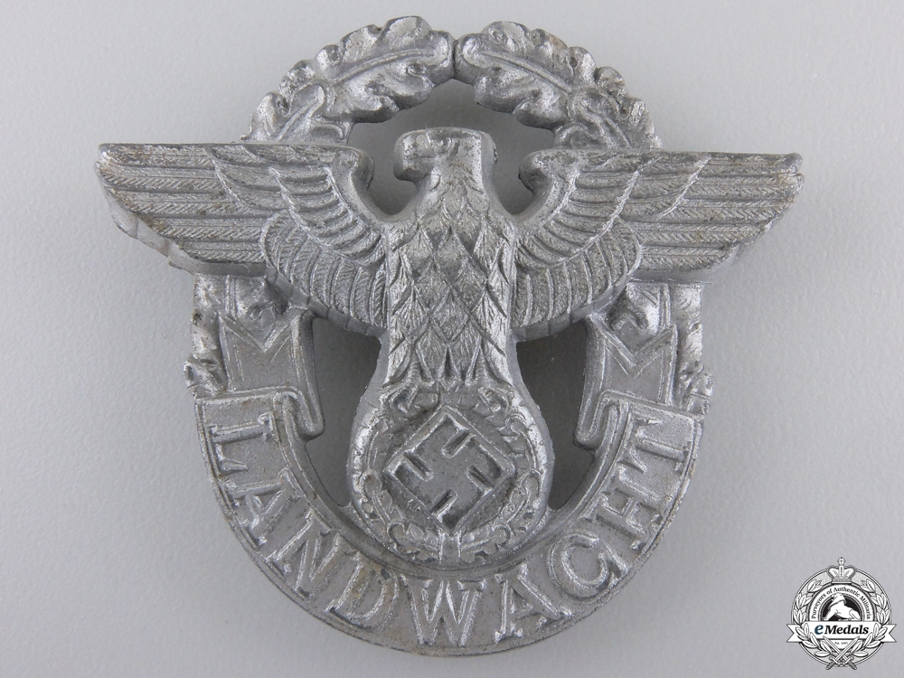 eMedals-A Landwacht Police Badge