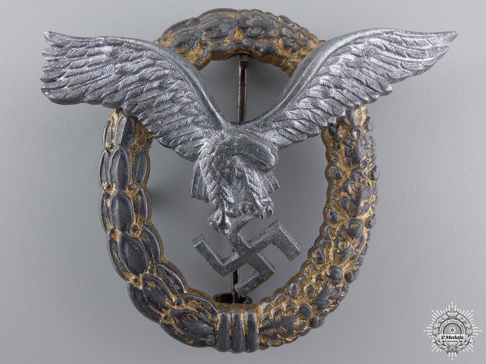 eMedals-A Late War Luftwaffe Combined Pilot & Observer's Badge