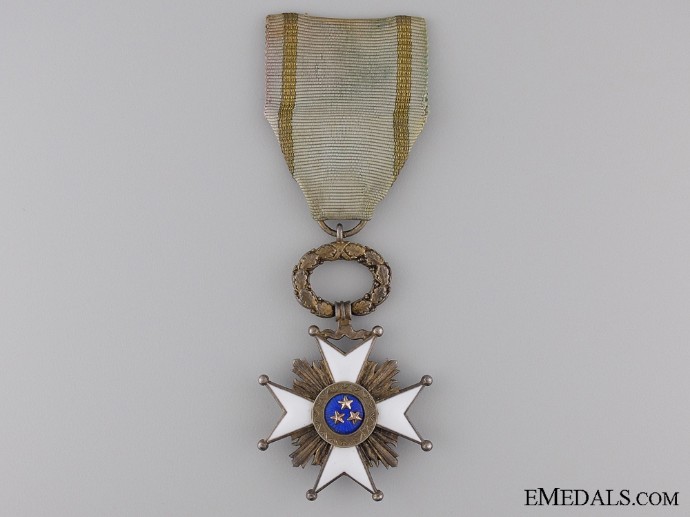 eMedals-A Latvian Order of the Three Stars; Knight's Breast Badge, Fifth Class
