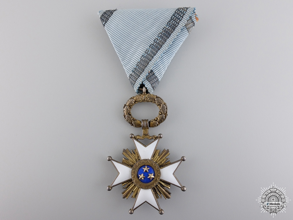 eMedals-A Latvian Order of the Three Stars; Knight's Breast Badge