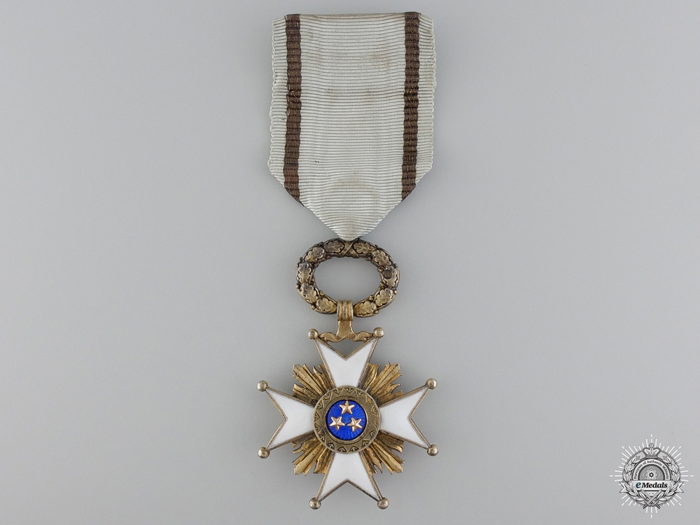 eMedals-Latvia. An Order of the Three Stars, Fifth Class Knight's Cross, c.1940