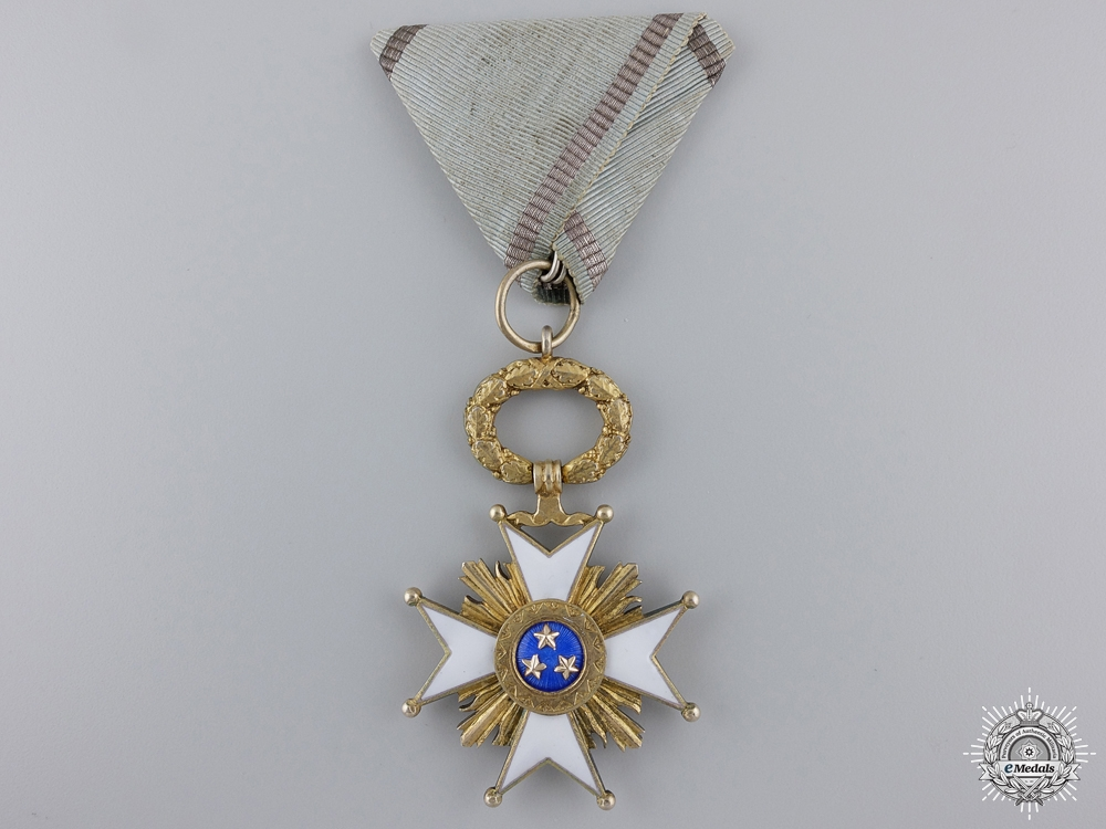eMedals-A Latvian Order of the Three Stars; Knight's Cross