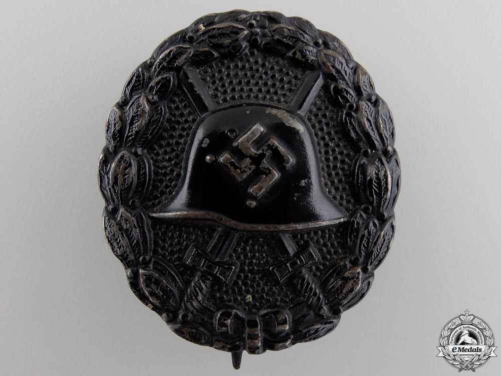 eMedals-A Legion Condor Wound Badge; Black Grade
