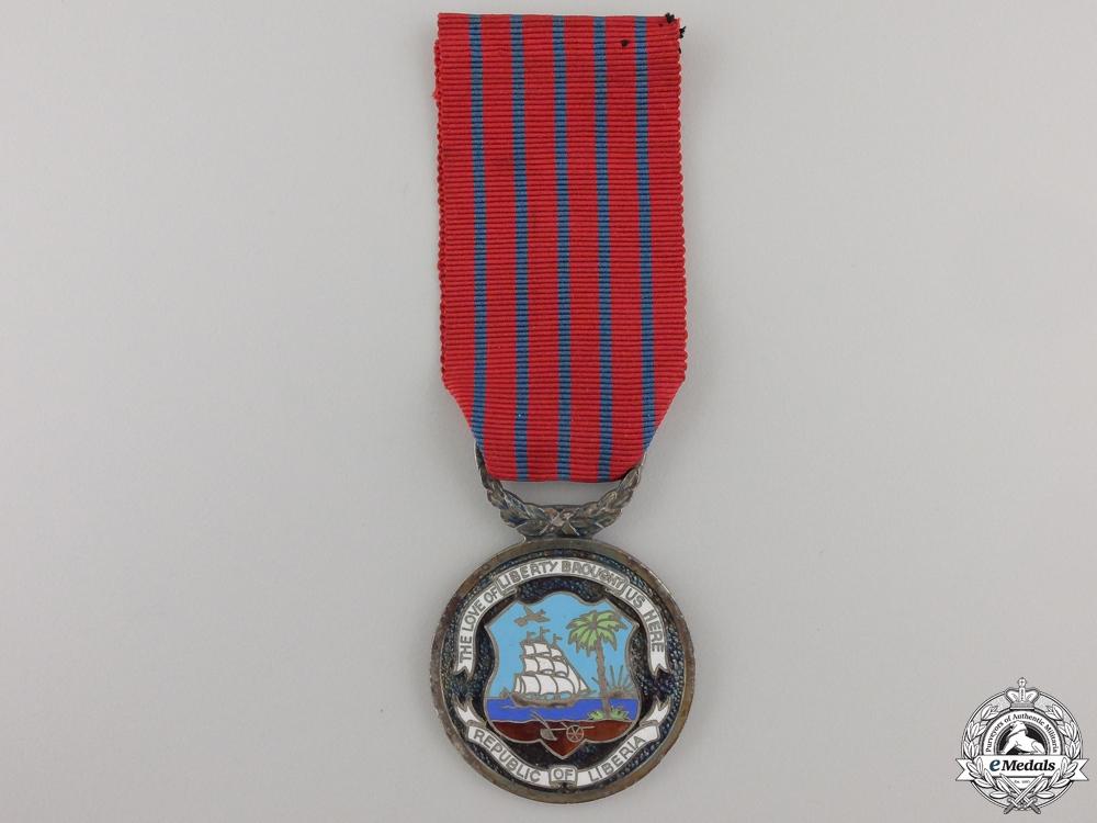 eMedals-A Liberian National Merit Medal