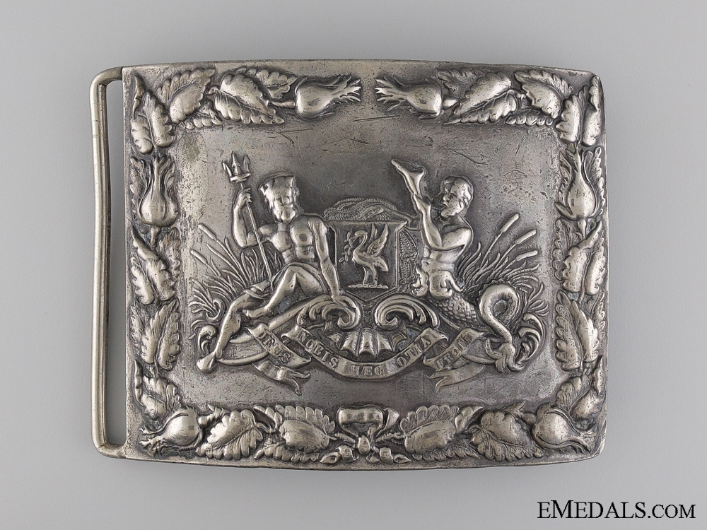 eMedals-A Liverpool City Pipe Band Shoulder Belt Plate