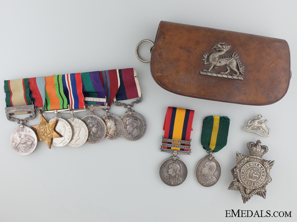 eMedals-A Long Service Royal Air Force Father & Son Group