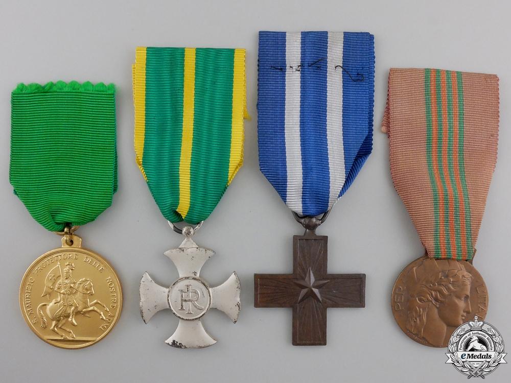 eMedals-A Lot of Four Italian Medals