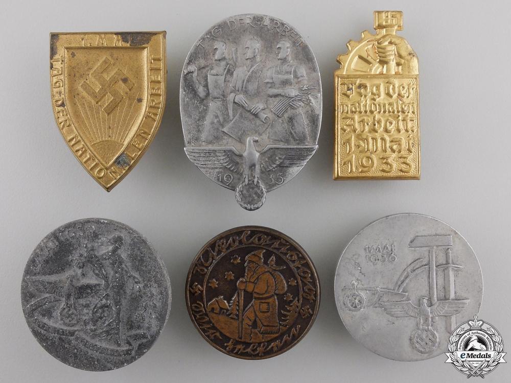 eMedals-A Lot of Six Second War German Tinnies
