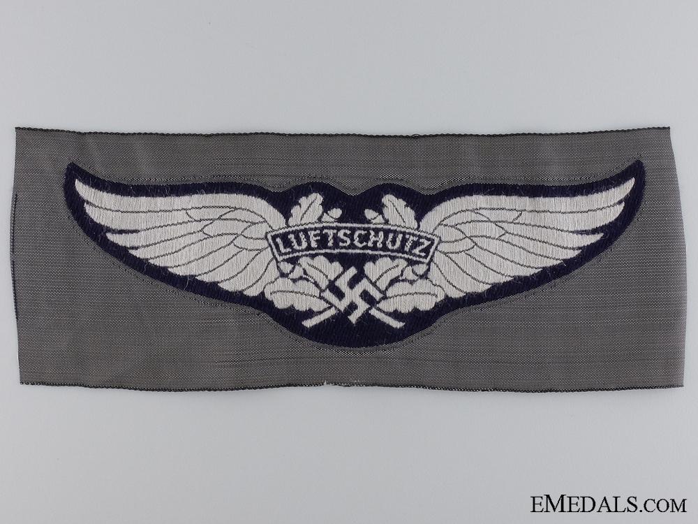 eMedals-A Luftschutz Cloth Insignia