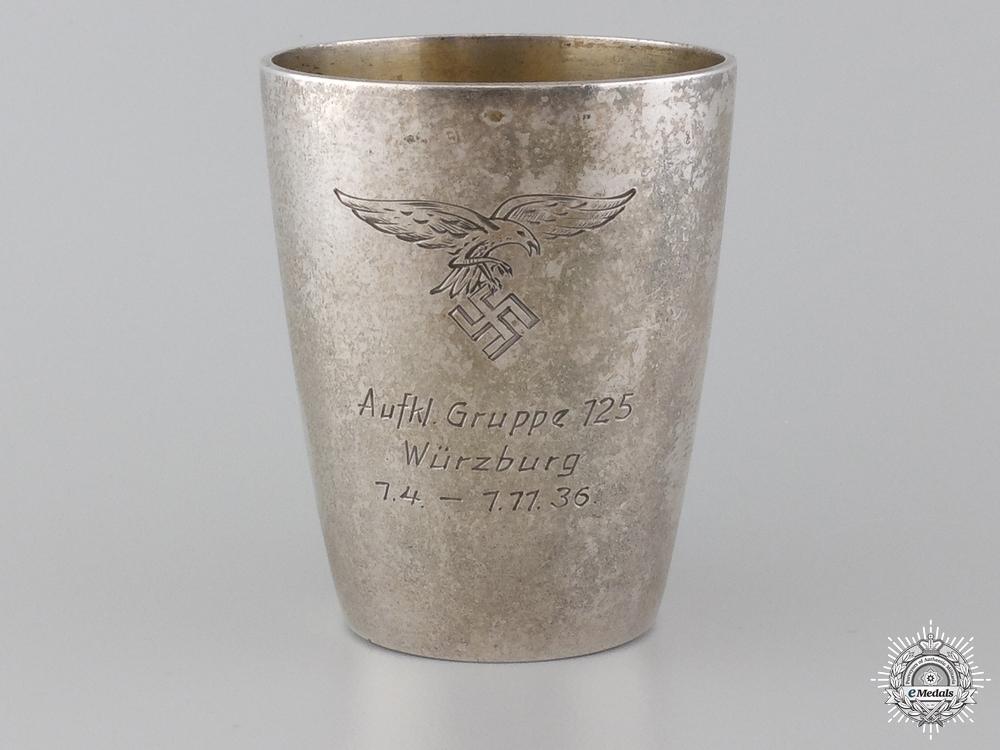 eMedals-A Luftwaffe 125th Reconnaissance Group at Würzburg Award Cup 1936
