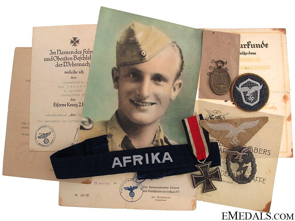 eMedals-A Luftwaffe Afrika Group